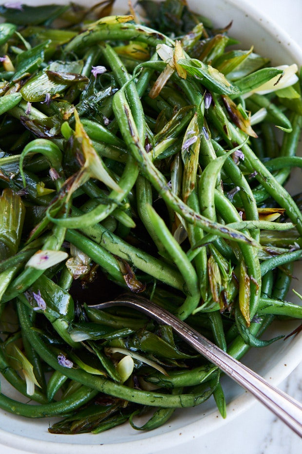 Live Green Bean Recipe