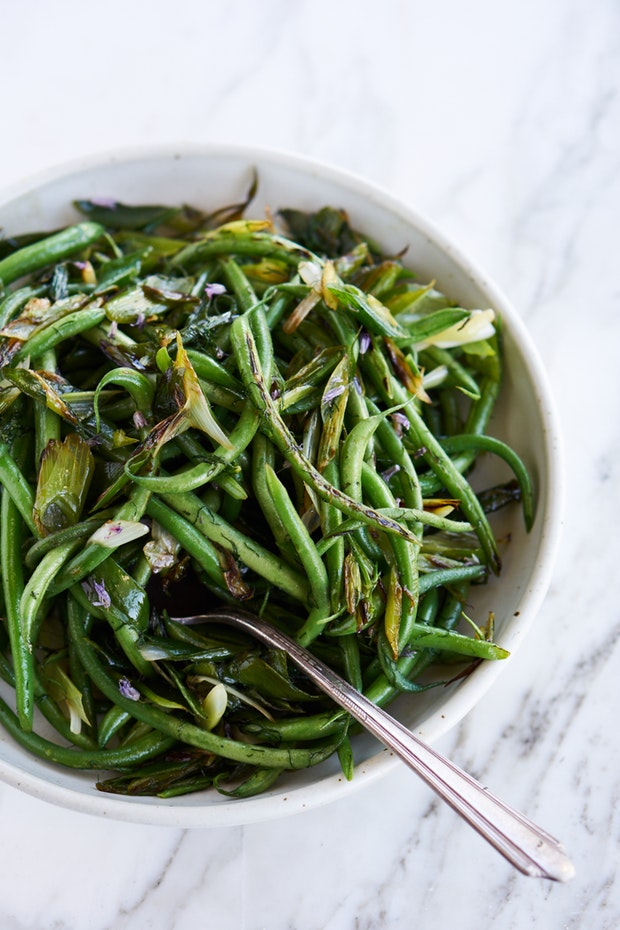 Live recipe for green beans