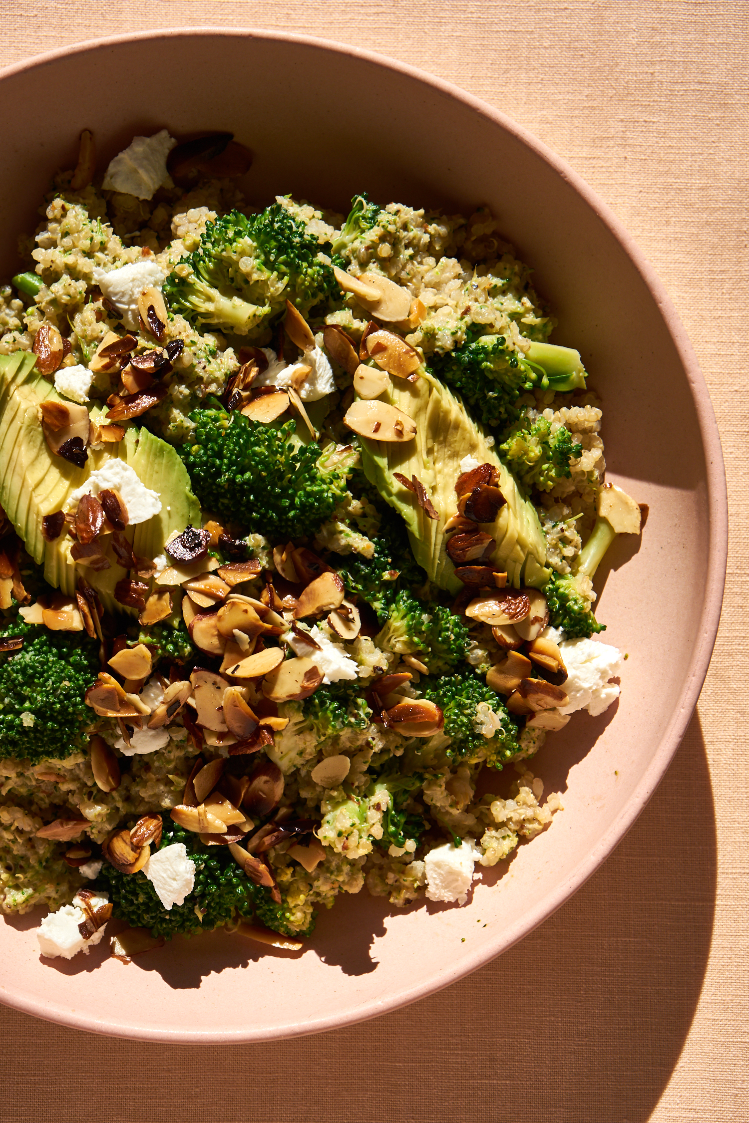 Quinoa Dual Recipe for Broccoli