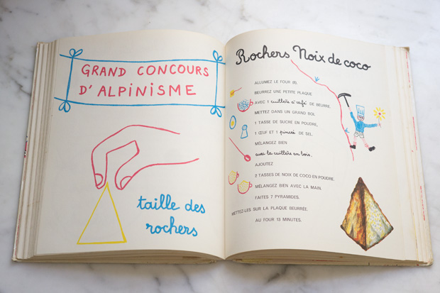 The Best Chocolate Pudding Recipe from La Patisserie is a French children's cooking book Jeu d 'Enfants